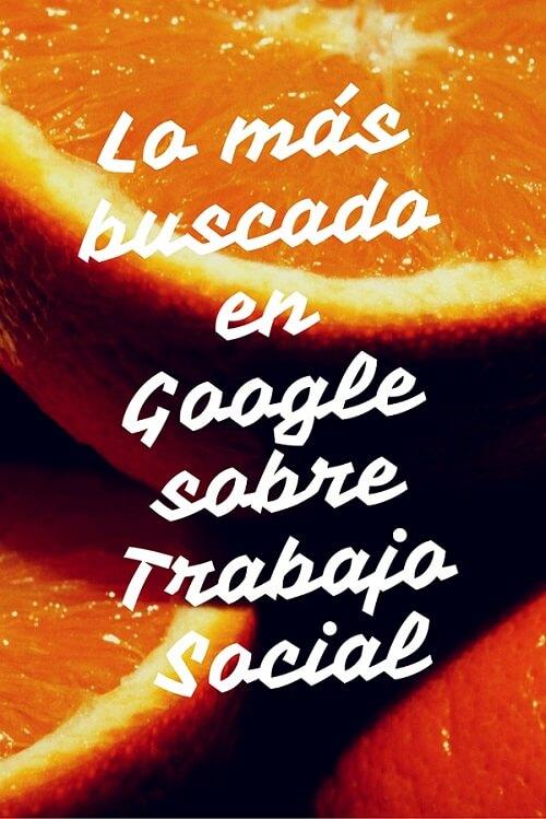 trabajo social en google